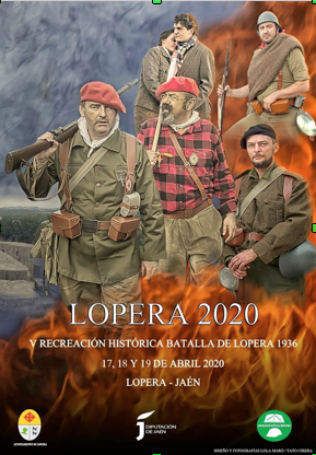 Historical Recreation of the Battle of Lopera (held in April)