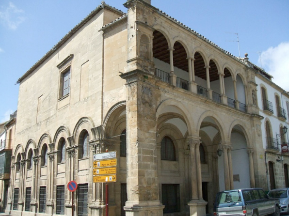 Old town hall houses